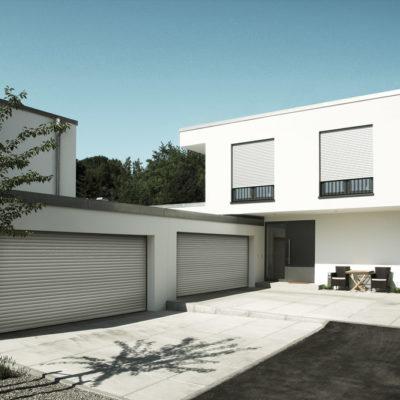 Zwei Garagen