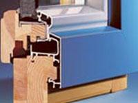 Holz–Aluminiumfenster