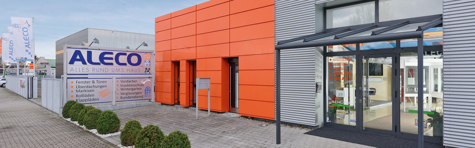 Firmengebäude Aleco